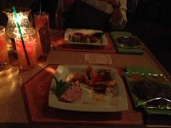 TDL ディナーショーの食事