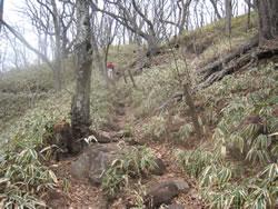 榛名富士のハイキングコース