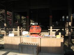 鎌倉宮の獅子