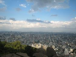 円山からの風景