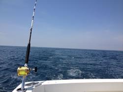 大洗 海とルアー