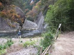 仙娥滝の上流