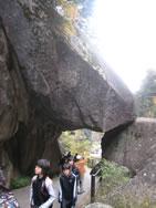 昇仙峡 「石門」