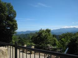 高尾山 山頂からの風景